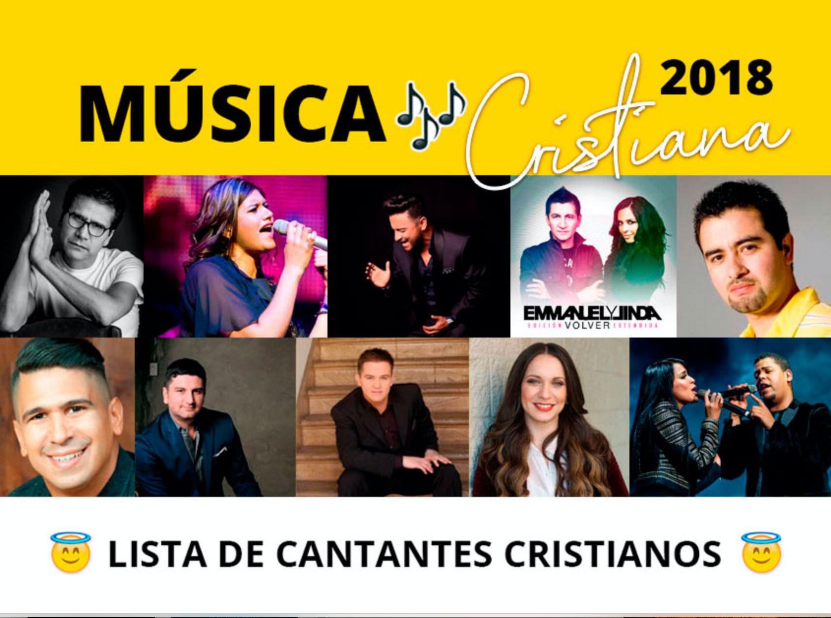 0ba87cdc766b Música Cristiana 2018 - 2019 🥇 Listado de Cantantes🥇▷MIRA LA LISTA