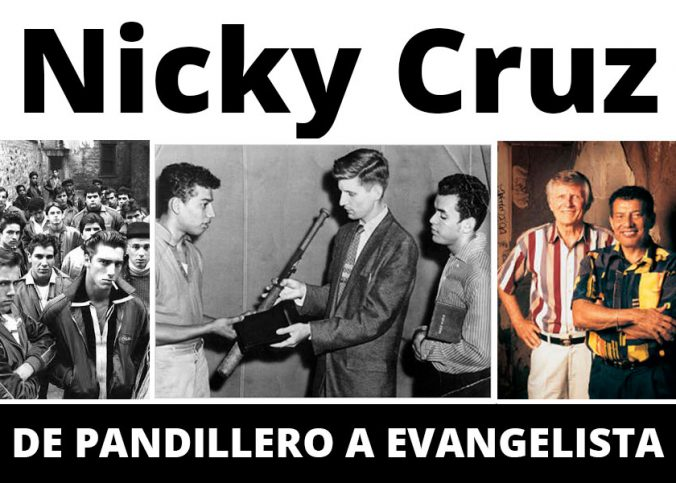 NICKY CRUZ testimonio evangelista hombre de dios