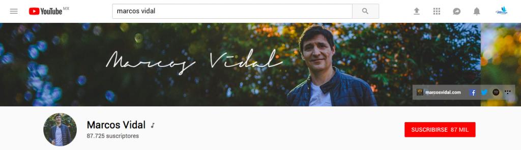 música cristiana en youtube