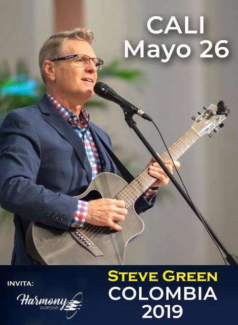 eventos y conciertos cristianos 2019 en vivo steve green cali colombia