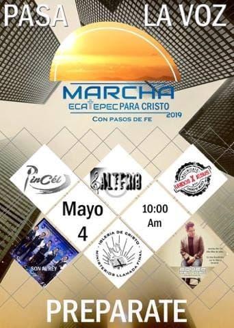 eventos y conciertos cristianos 2019 marcha ecatepec para cristo edomex