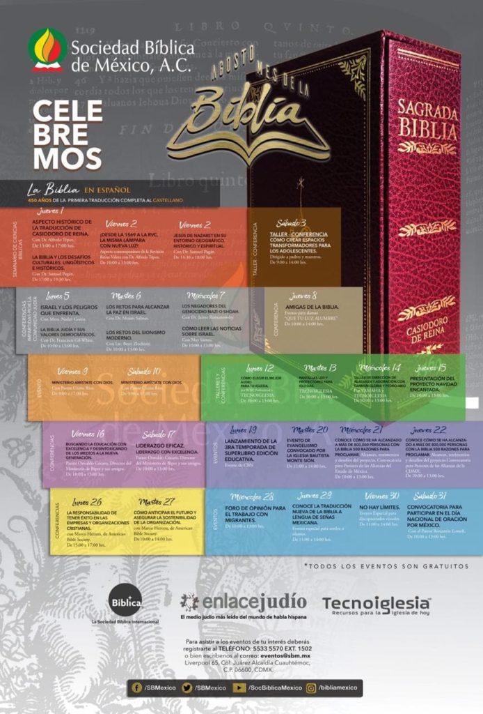 eventos y conciertos cristianos 2019 450 años de la biblia en español