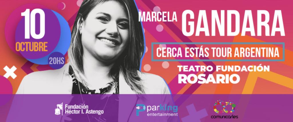 eventos y conciertos cristianos 2019 marcela gandara rosario argentina