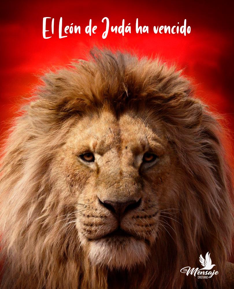 imagenes con versiculos dios leon de juda bueno 2019