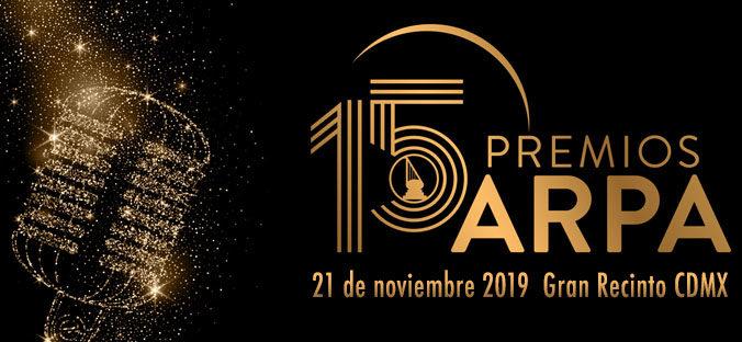 eventos y conciertos cristianos premios arpa 2019