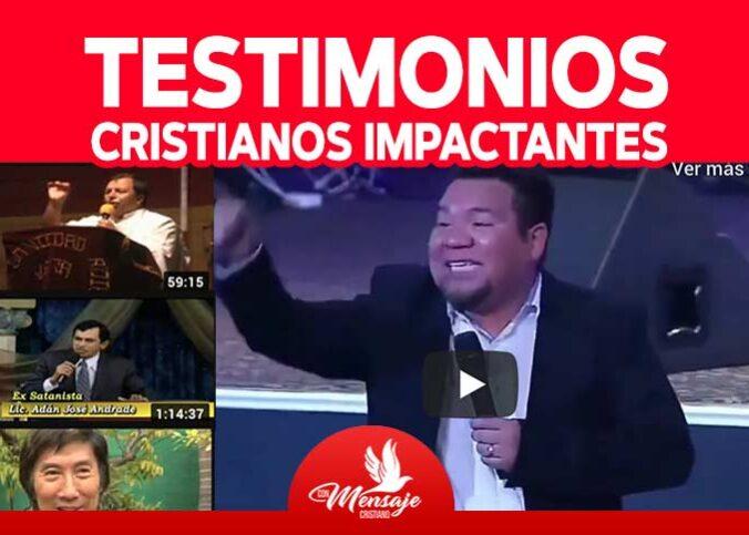 TESTIMONIOS CRISTIANOS de impacto ✅ TESTIMONIOS ✅ de conversión entra ahora y mira los mejores testimonios cristianos impactantes completos