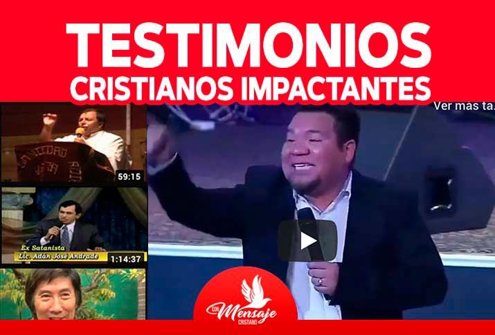 TESTIMONIOS CRISTIANOS de impacto TESTIMONIOS de conversión entra ahora y mira los mejores testimonios cristianos impactantes completos