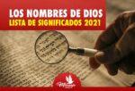 Nombres de DIOS según la Biblia / Lista de Significados y Definiciones.